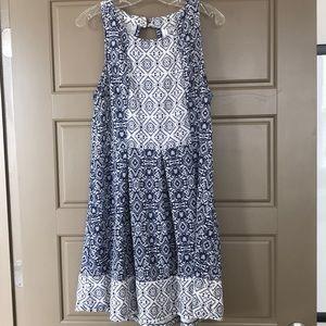 Blue Print Xhilaration xxl Dress